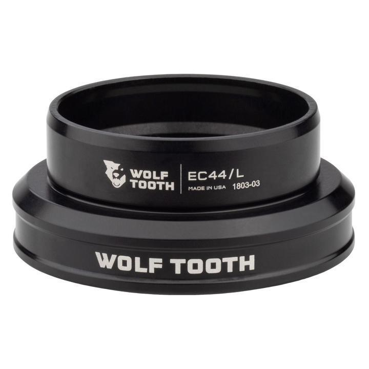 Wolf Tooth-Wolf Tooth Performance External Cup Headset-Lower EC49/40-Black-WTEC49L40BLKB-saddleback-elite-performance-cycling