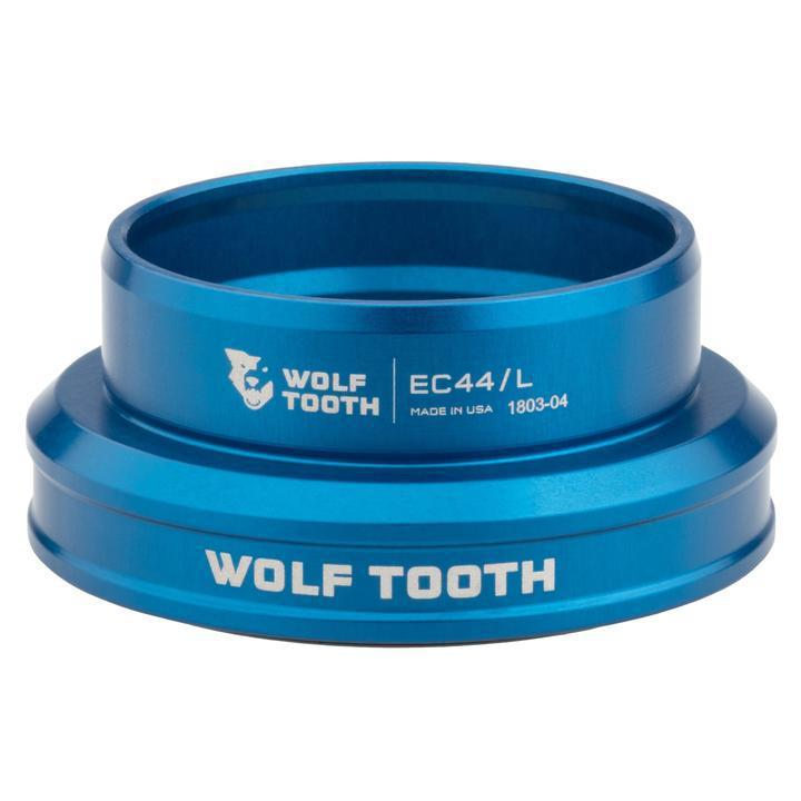 Wolf Tooth-Wolf Tooth Performance External Cup Headset-Lower EC49/40-Blue-WTEC49L40BLUB-saddleback-elite-performance-cycling