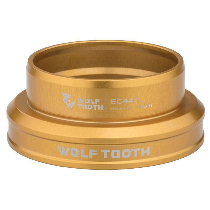 Wolf Tooth-Wolf Tooth Performance External Cup Headset-Lower EC49/40-Gold-WTEC49L40GLDB-saddleback-elite-performance-cycling