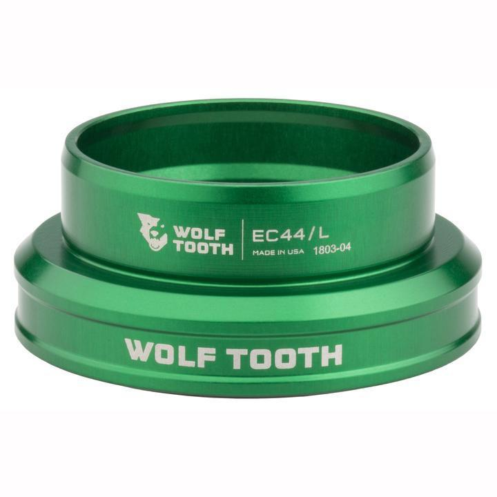 Wolf Tooth-Wolf Tooth Performance External Cup Headset-Lower EC49/40-Green-WTEC49L40GRNB-saddleback-elite-performance-cycling