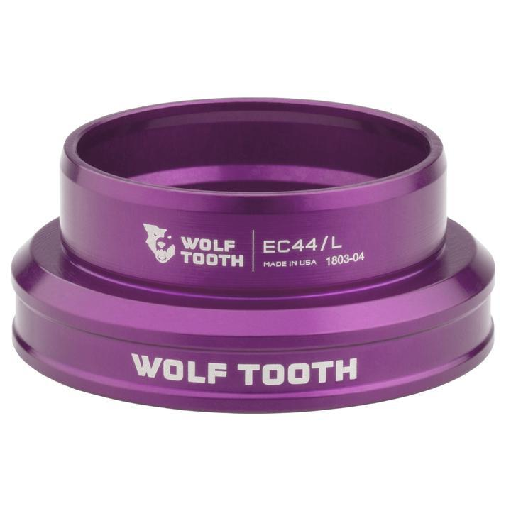 Wolf Tooth-Wolf Tooth Performance External Cup Headset-Lower EC49/40-Purple-WTEC49L40PRPB-saddleback-elite-performance-cycling
