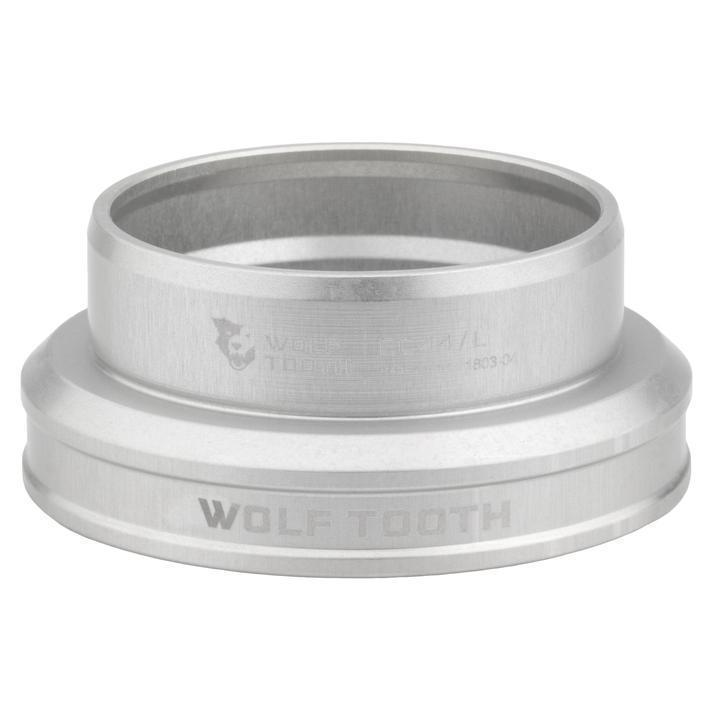 Wolf Tooth-Wolf Tooth Performance External Cup Headset-Lower EC49/40-Silver-WTEC49L40SILB-saddleback-elite-performance-cycling