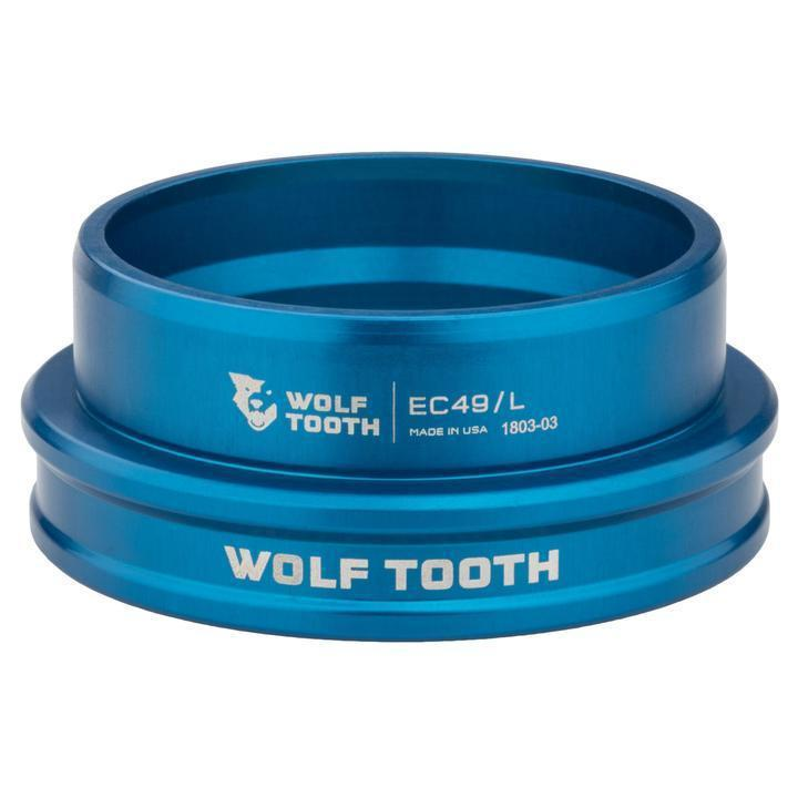 Wolf Tooth-Wolf Tooth Performance External Cup Headset-Lower EC44/40-Blue-WTEC44L40BLUB-saddleback-elite-performance-cycling