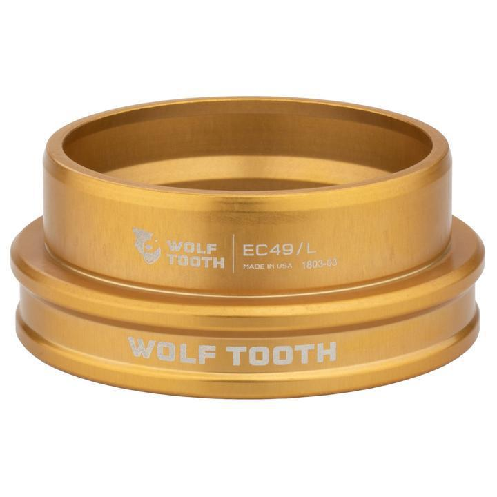 Wolf Tooth-Wolf Tooth Performance External Cup Headset-Lower EC44/40-Gold-WTEC44L40GLDB-saddleback-elite-performance-cycling