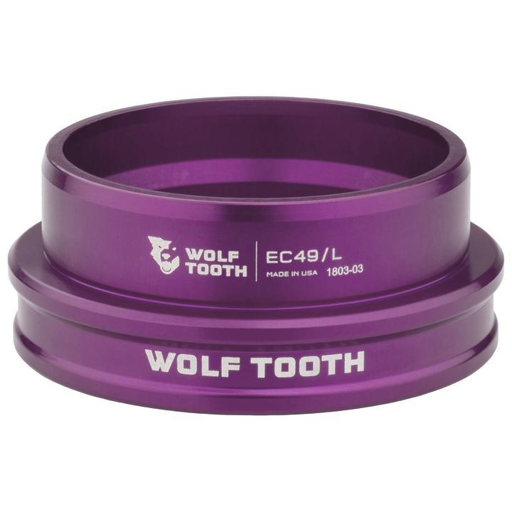 Wolf Tooth-Wolf Tooth Performance External Cup Headset-Lower EC44/40-Purple-WTEC44L40PRPB-saddleback-elite-performance-cycling