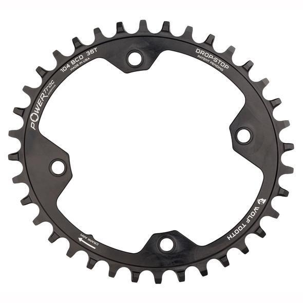 Wolf Tooth-Wolf Tooth Elliptical 104 BCD Chainring-Black-32t-WTOVAL10432-saddleback-elite-performance-cycling