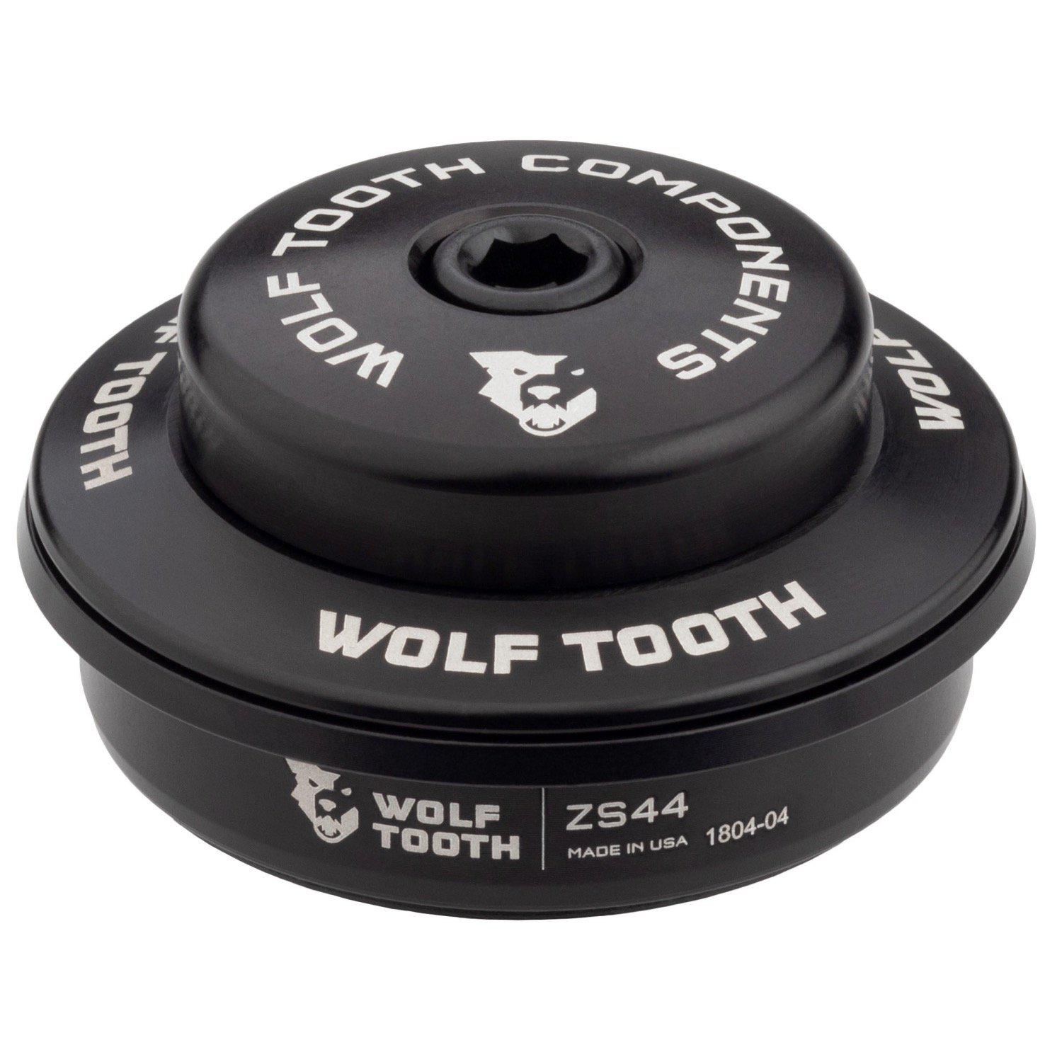 Wolf Tooth-Wolf Tooth Performance Zero Stack Headset-Upper ZS44/28.6-Black-WTZS44U5MMBLKB-saddleback-elite-performance-cycling
