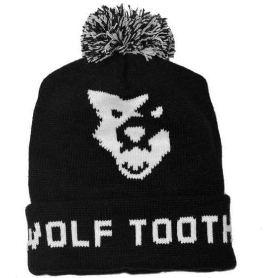 Wolf Tooth-Wolf Tooth Pom Pom Beanie-Black-One Size-WTPOMHAT-saddleback-elite-performance-cycling