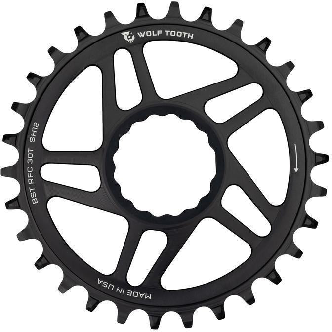 Wolf Tooth-Wolf Tooth Direct Mount Chainring for Race Face Boost-Black-36T-WTRFC36BST-saddleback-elite-performance-cycling