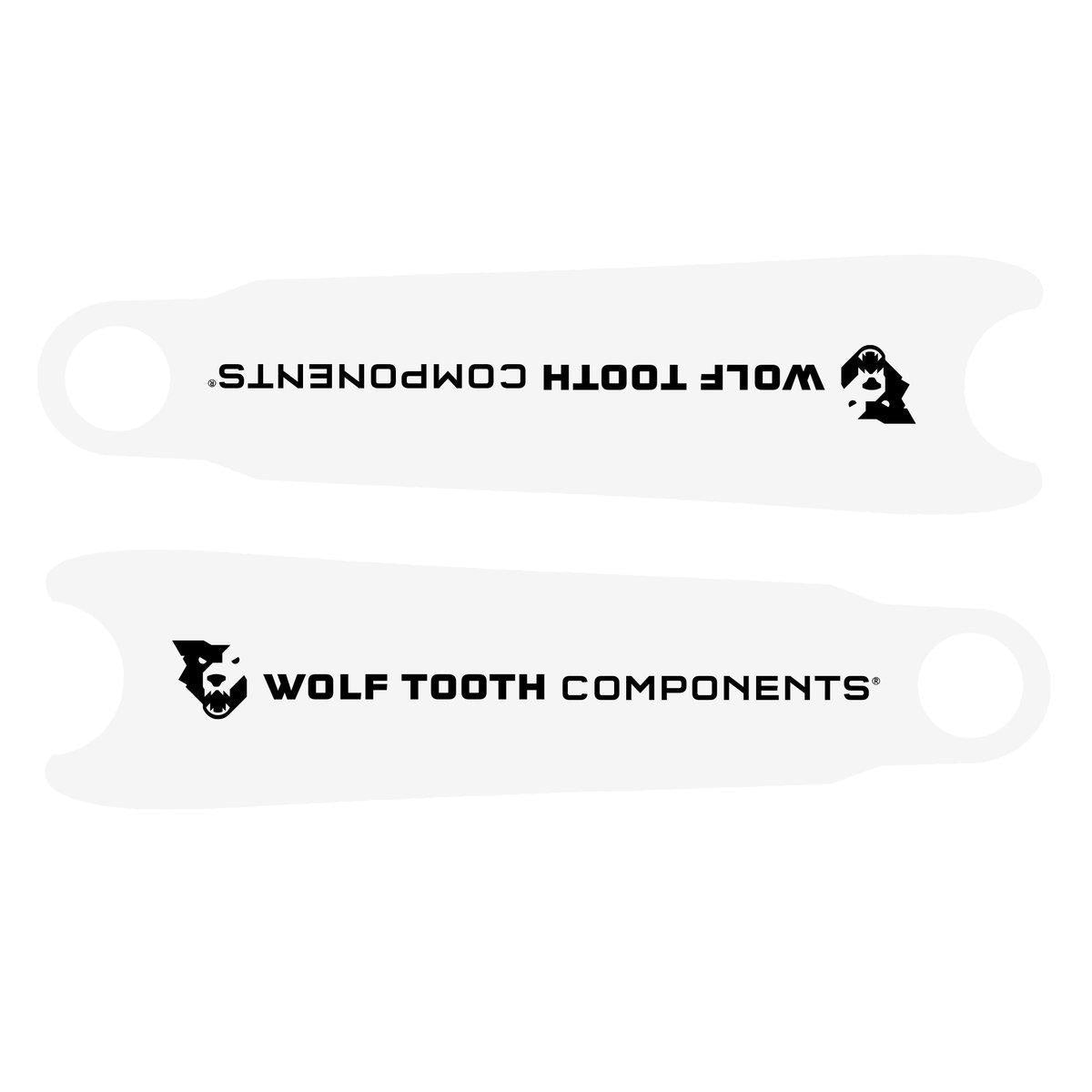 Wolf Tooth-Wolf Tooth Crankskins Crank Arm Protectors-UNI-Clear-WTCKSCLR-saddleback-elite-performance-cycling