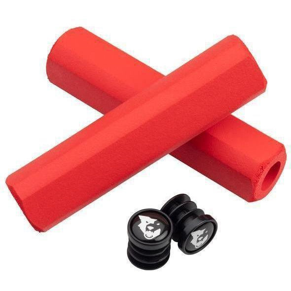 Wolf Tooth-Wolf Tooth Fat Paw Cam Grips-9.5mm-Red-WTCAMFATPAWRED-saddleback-elite-performance-cycling