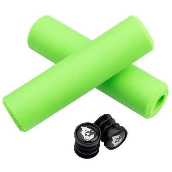 Wolf Tooth-Wolf Tooth Fat Paw Grips-Green-Uni-WTFatPawGripGRN-saddleback-elite-performance-cycling