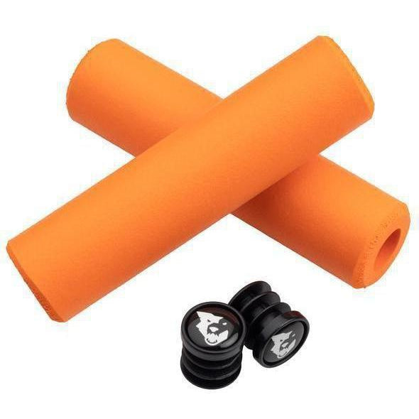 Wolf Tooth-Wolf Tooth Fat Paw Grips-9.5mm-Orange-WTFatPawGripORG-saddleback-elite-performance-cycling