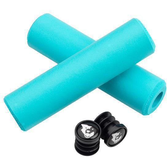 Wolf Tooth-Wolf Tooth Fat Paw Grips-Teal-Uni-WTFatPawGripTEAL-saddleback-elite-performance-cycling