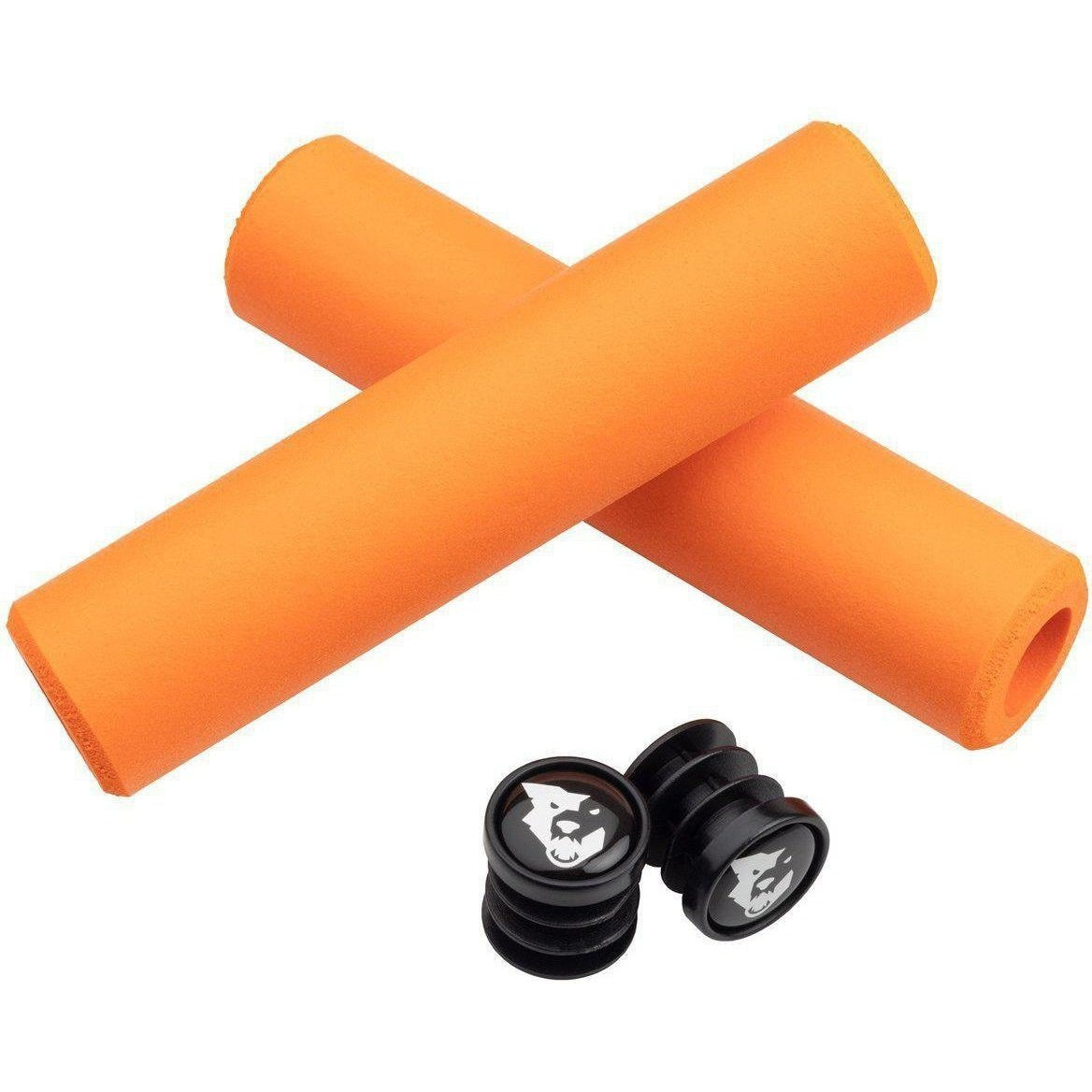 Wolf Tooth-Wolf Tooth Karv Grips-Orange-6.5mm-WTKARVORG-saddleback-elite-performance-cycling