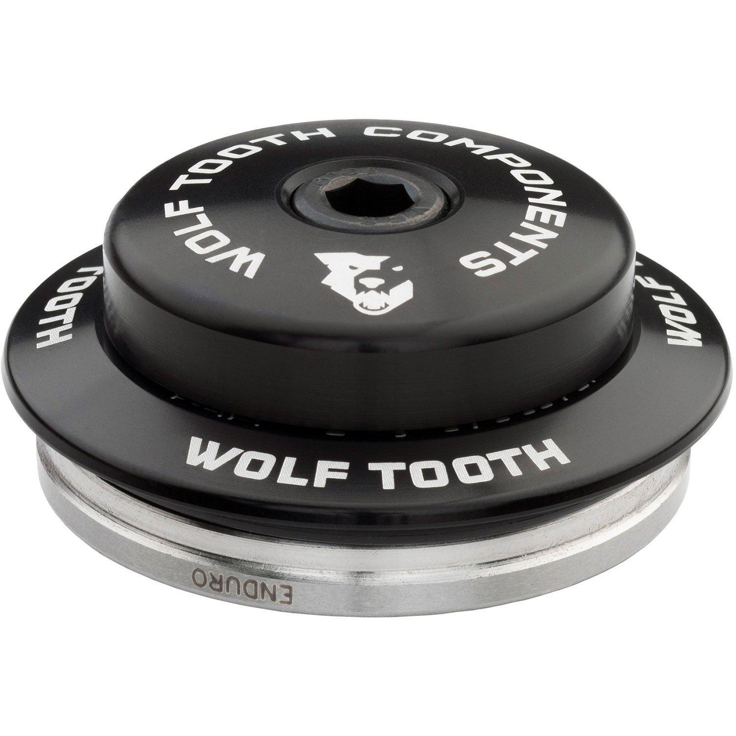 Wolf Tooth-Wolf Tooth Premium Integrated Standard Headset For Specialized-Black-IS42 Upper - 3mm Stack-WTIS42USPEC3MMBLK-saddleback-elite-performance-cycling
