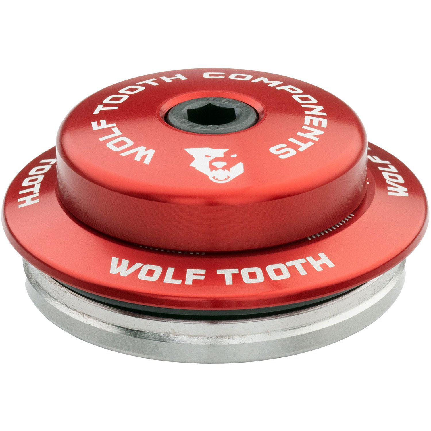 Wolf Tooth-Wolf Tooth Premium Integrated Standard Headset For Specialized-Red-IS42 Upper - 3mm Stack-WTIS42USPEC3MMRED-saddleback-elite-performance-cycling