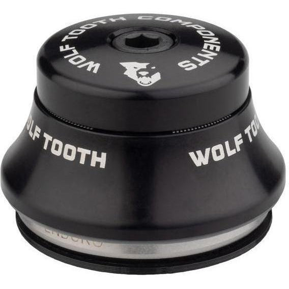 Wolf Tooth-Wolf Tooth Premium Integrated Standard Headset-Upper IS41 15mm-Black-WTIS41U15mmBLK-saddleback-elite-performance-cycling