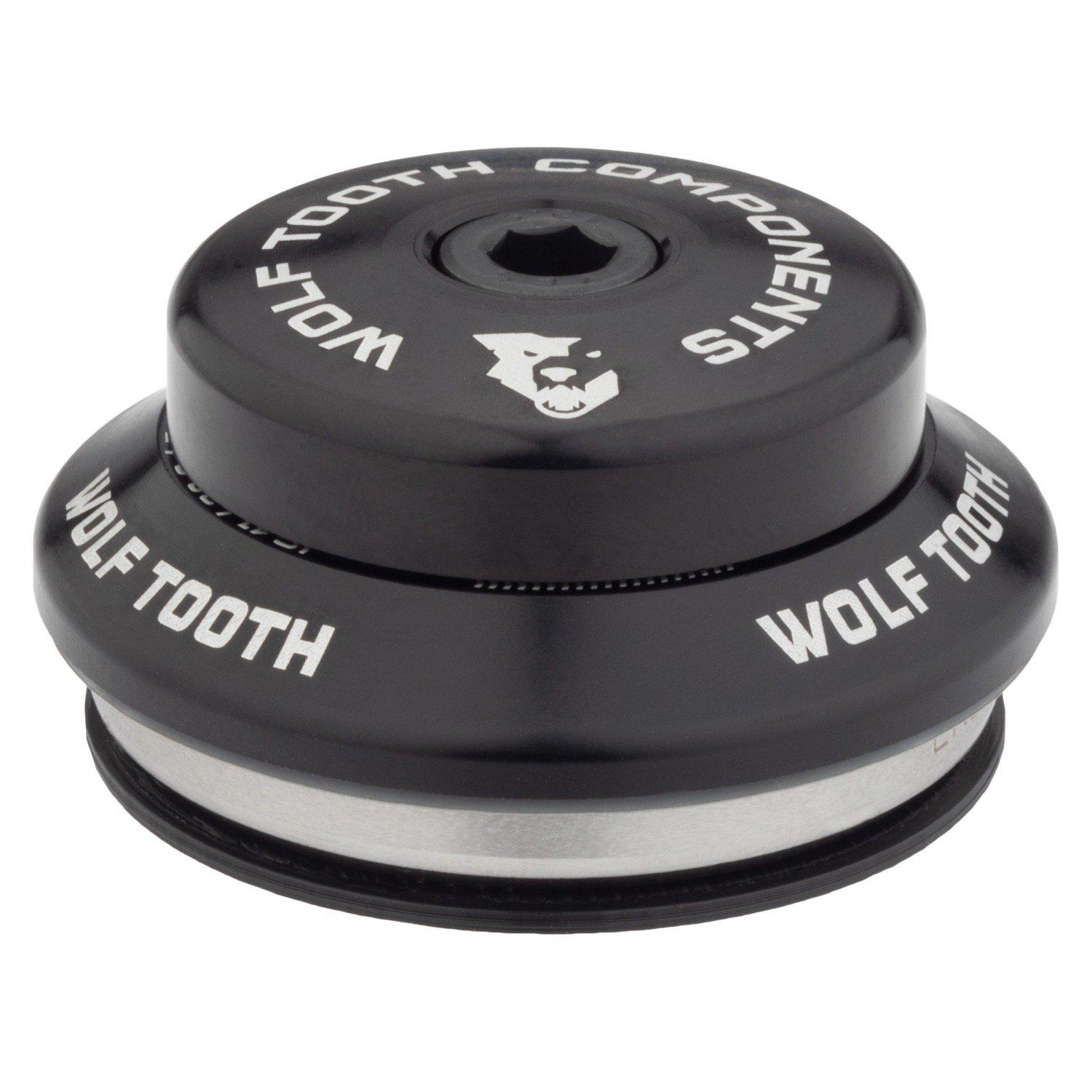 Wolf Tooth-Wolf Tooth Performance Integrated Standard Headset-Upper IS41/28.6-Black-WTIS41U5MMBLKB-saddleback-elite-performance-cycling