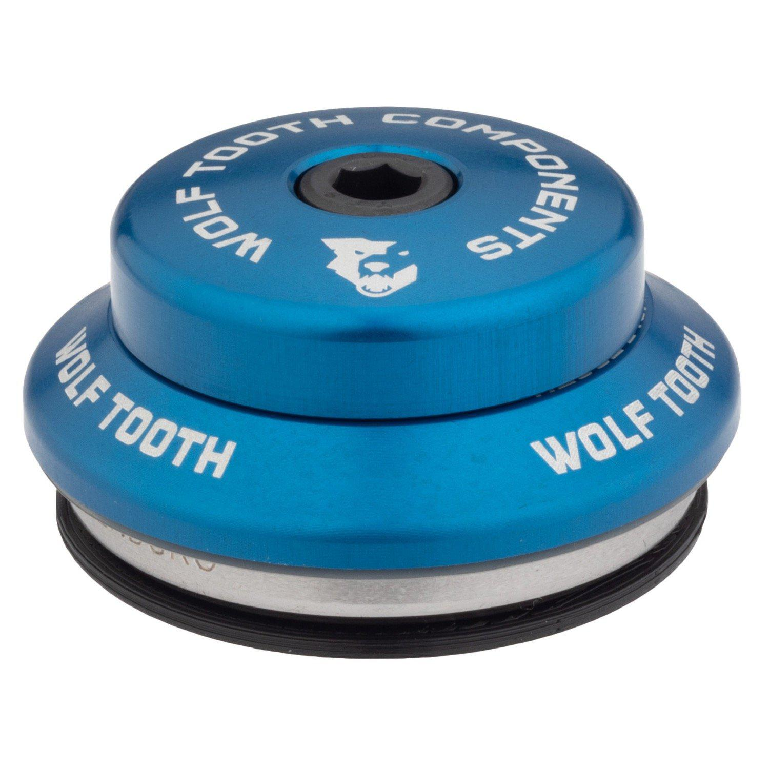 Wolf Tooth-Wolf Tooth Performance Integrated Standard Headset-Upper IS41/28.6-Blue-WTIS41U5MMBLUB-saddleback-elite-performance-cycling
