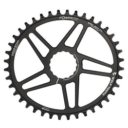 Wolf Tooth-Wolf Tooth Elliptical Direct Mount Chainring for Easton Cinch Flat Top-Black-38t-WTOVALERC38FT-saddleback-elite-performance-cycling