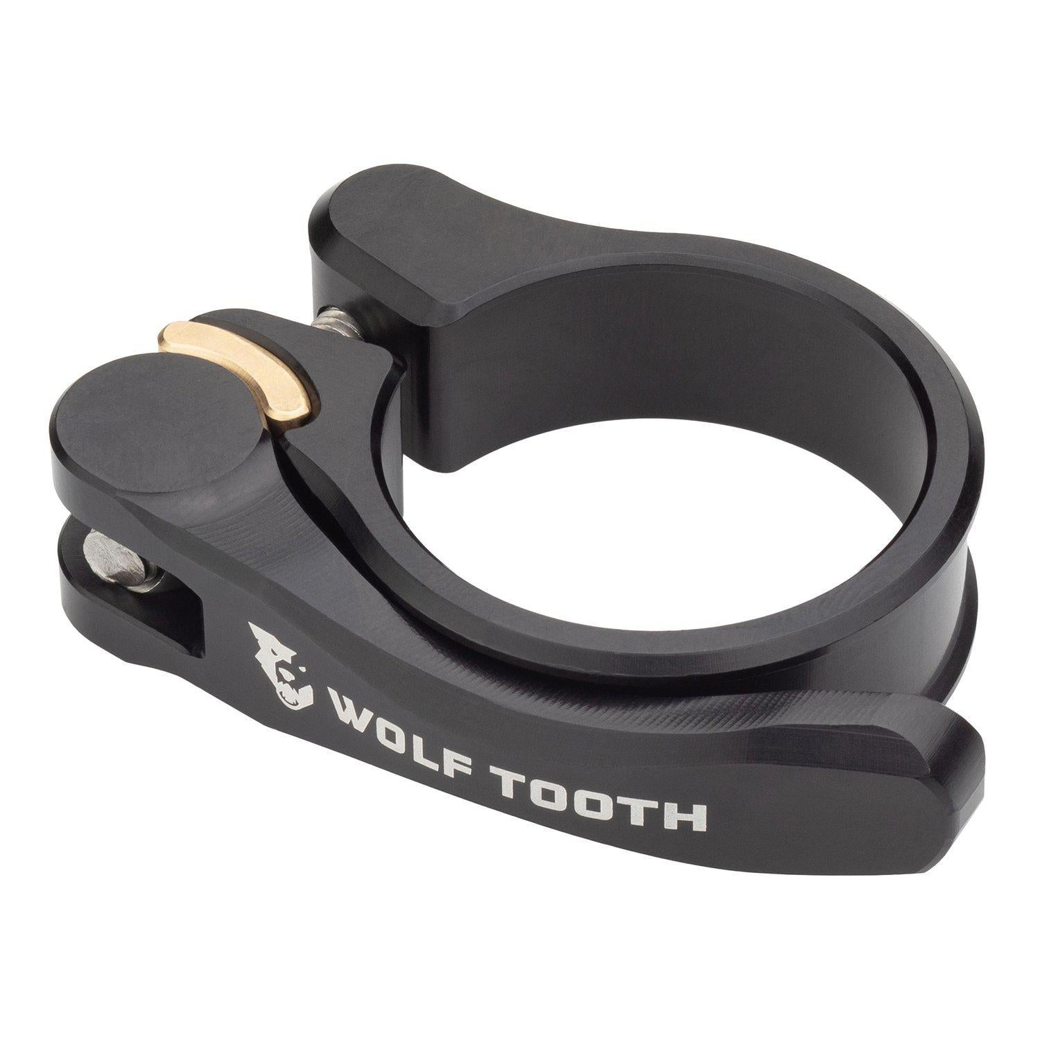 Wolf Tooth-Wolf Tooth Seatpost Clamp Quick Release-Black-28.6mm-WTSC29BLKQR-saddleback-elite-performance-cycling
