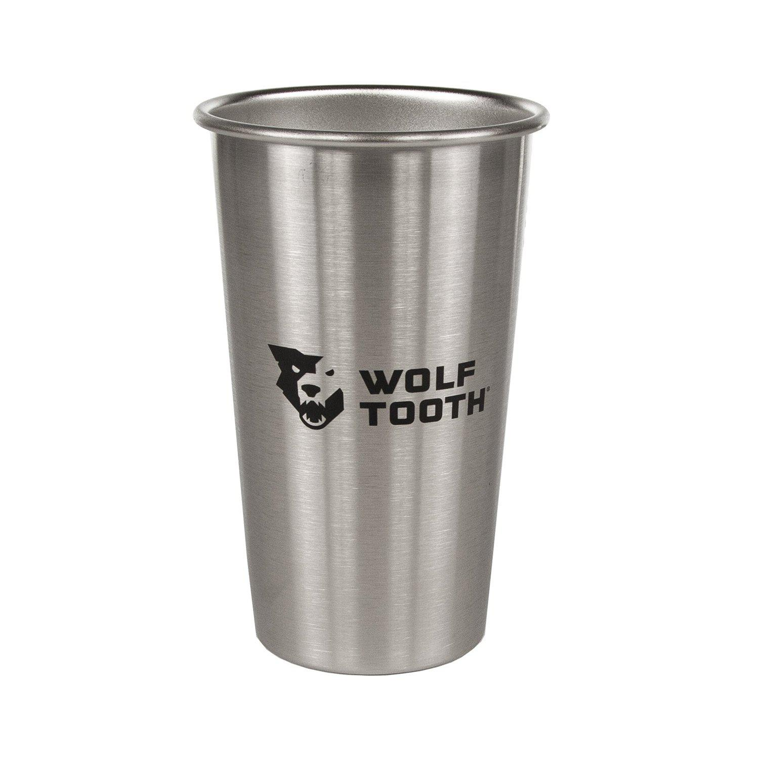 Wolf Tooth-Wolf Tooth Pint Cup-Silver-1 Pint-WTWTPINTCUP-saddleback-elite-performance-cycling