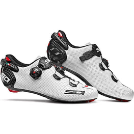 Sidi-Sidi Wire 2 Air Carbon Road Shoes-White/Black-38-SIWIRE2CABINE38-saddleback-elite-performance-cycling