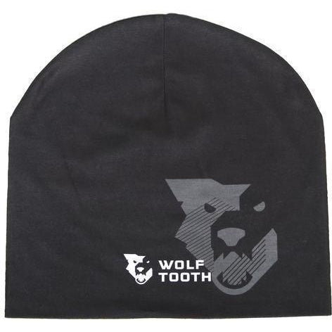 Wolf Tooth-Wolf Tooth Logo Beanie-Black-One Size-WTBEANIE-LOGO-BLK-saddleback-elite-performance-cycling