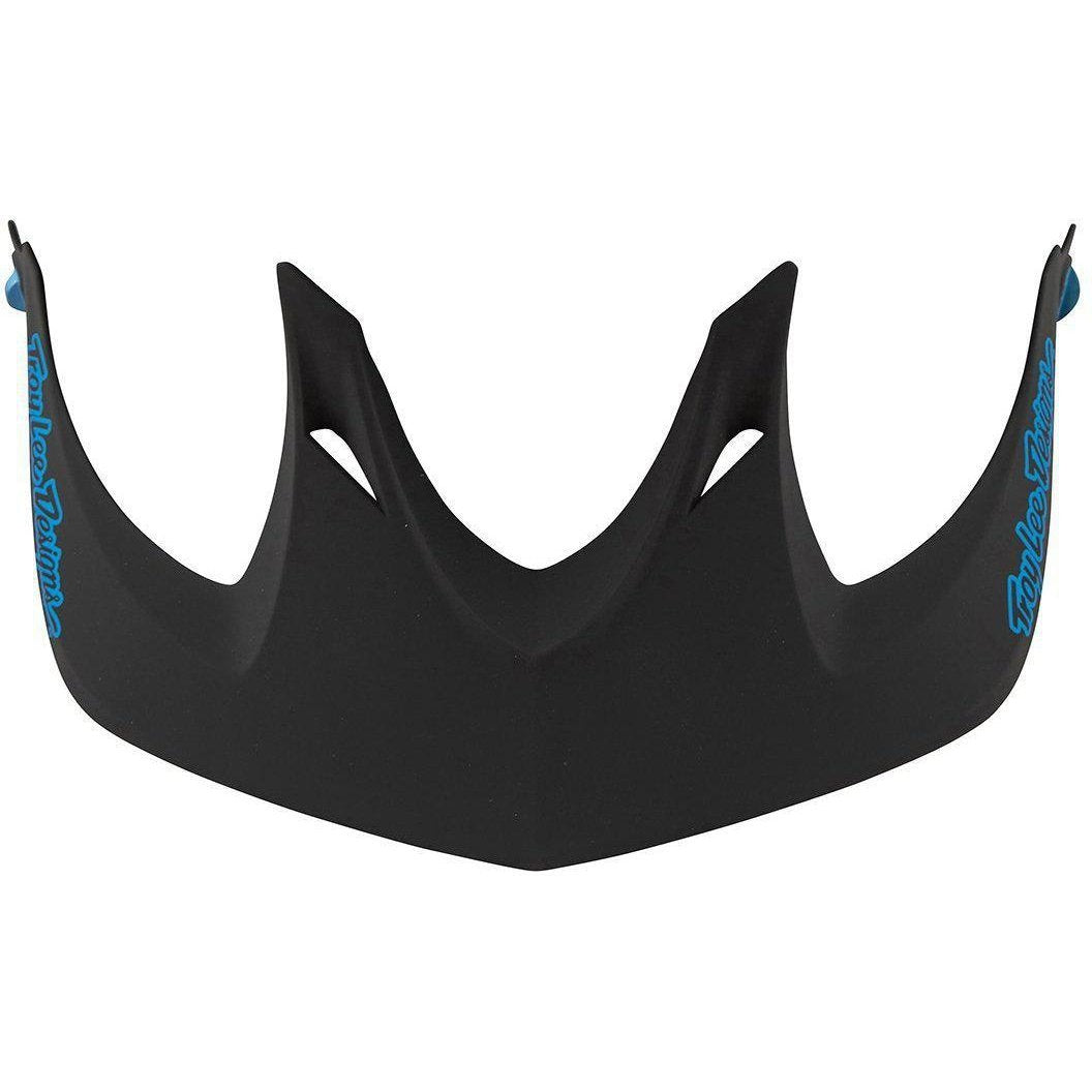 Troy Lee Designs-Troy Lee Designs A1 Helmet Replacement Visor-CLASSIC BLACK/BLUE-A1-TLD156111230-saddleback-elite-performance-cycling