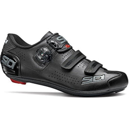 Sidi-Sidi Alba 2 Road Shoes Mega-40-Black/Black-SIALBA2MNENE40-saddleback-elite-performance-cycling