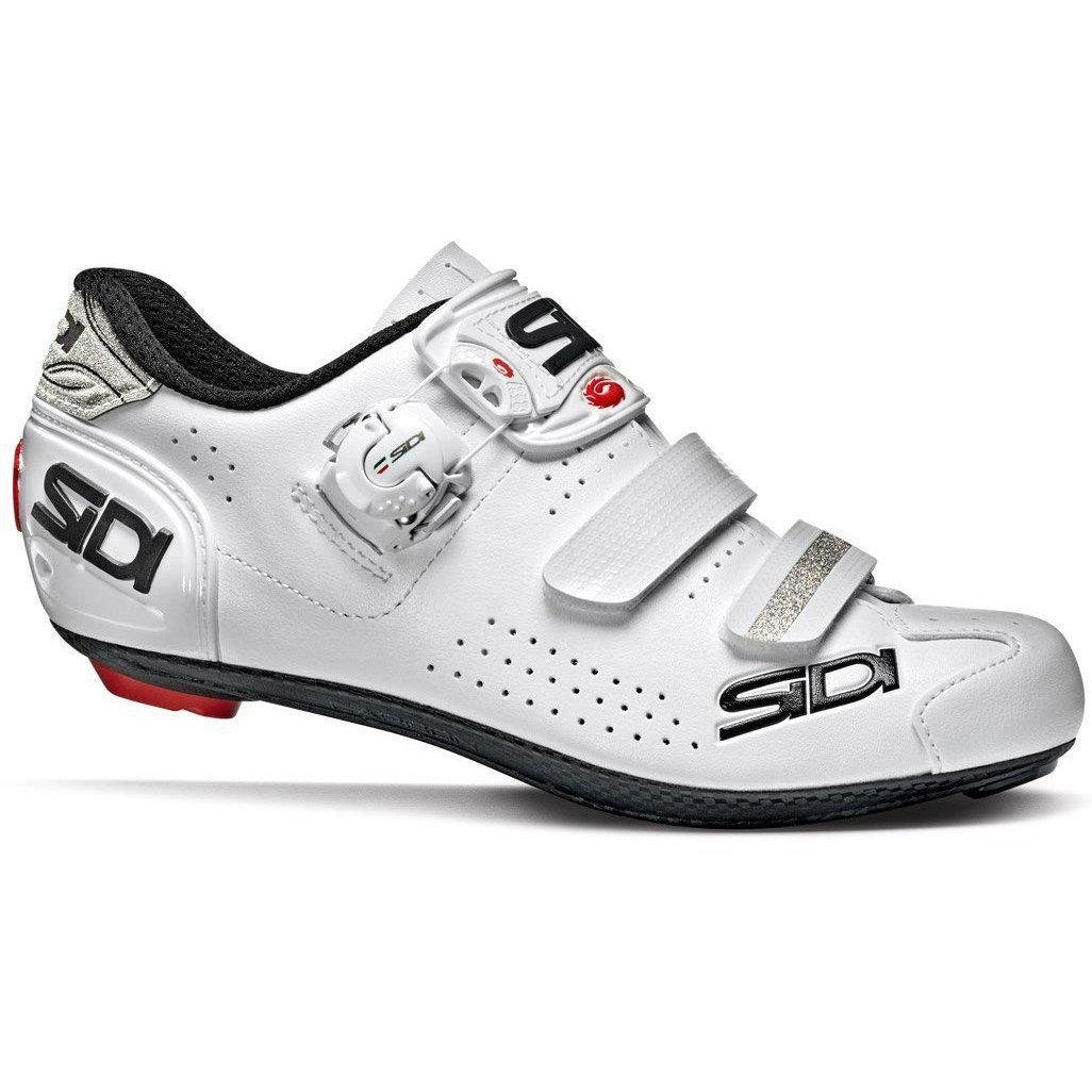 Sidi-Sidi Alba 2 Women's Road Shoes-36-White/White-SIALBA2WBIBI36-saddleback-elite-performance-cycling