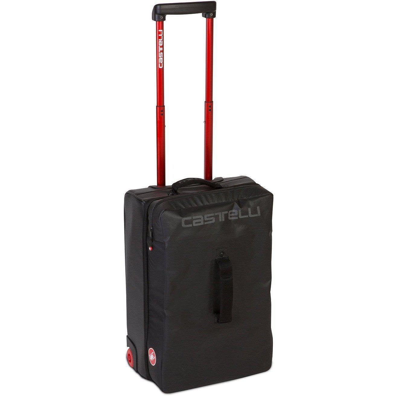 Castelli-Castelli Rolling Travel Bag-Black-Uni-CS8900100-saddleback-elite-performance-cycling