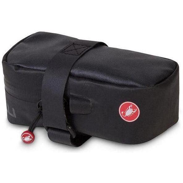 Castelli-Castelli Undersaddle Bag-Black-UNI-CS8900104-saddleback-elite-performance-cycling