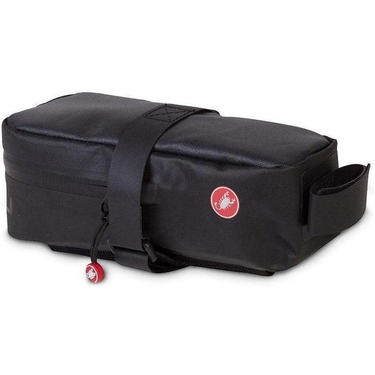 Castelli-Castelli Extra Large Undersaddle Bag-Black-UNI-CS8900105-saddleback-elite-performance-cycling