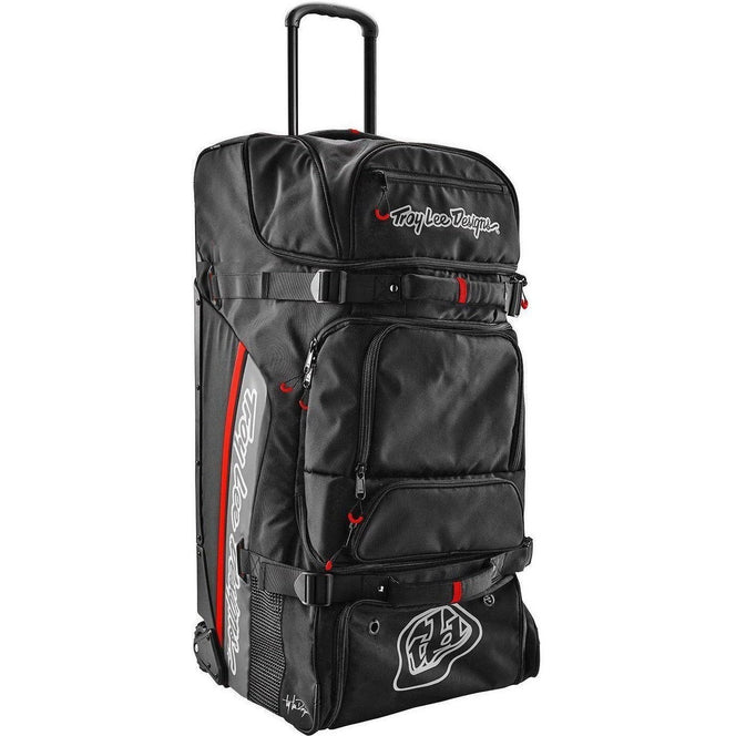 Troy Lee Designs-Troy Lee Designs Premium Wheeled Gear Bag-BLACK-Uni-TLD603003220-saddleback-elite-performance-cycling