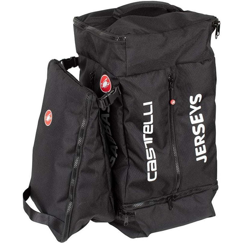 Castelli-Castelli Pro Race Rain Cycling Gear Bag-Black-CS8900111-saddleback-elite-performance-cycling
