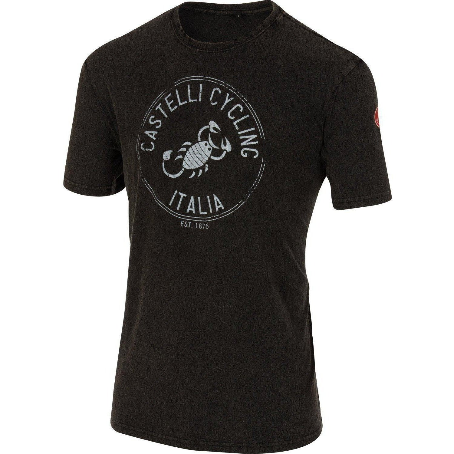 Castelli-Castelli Armando T-shirt-Vintage Black-S-CS160650992-saddleback-elite-performance-cycling