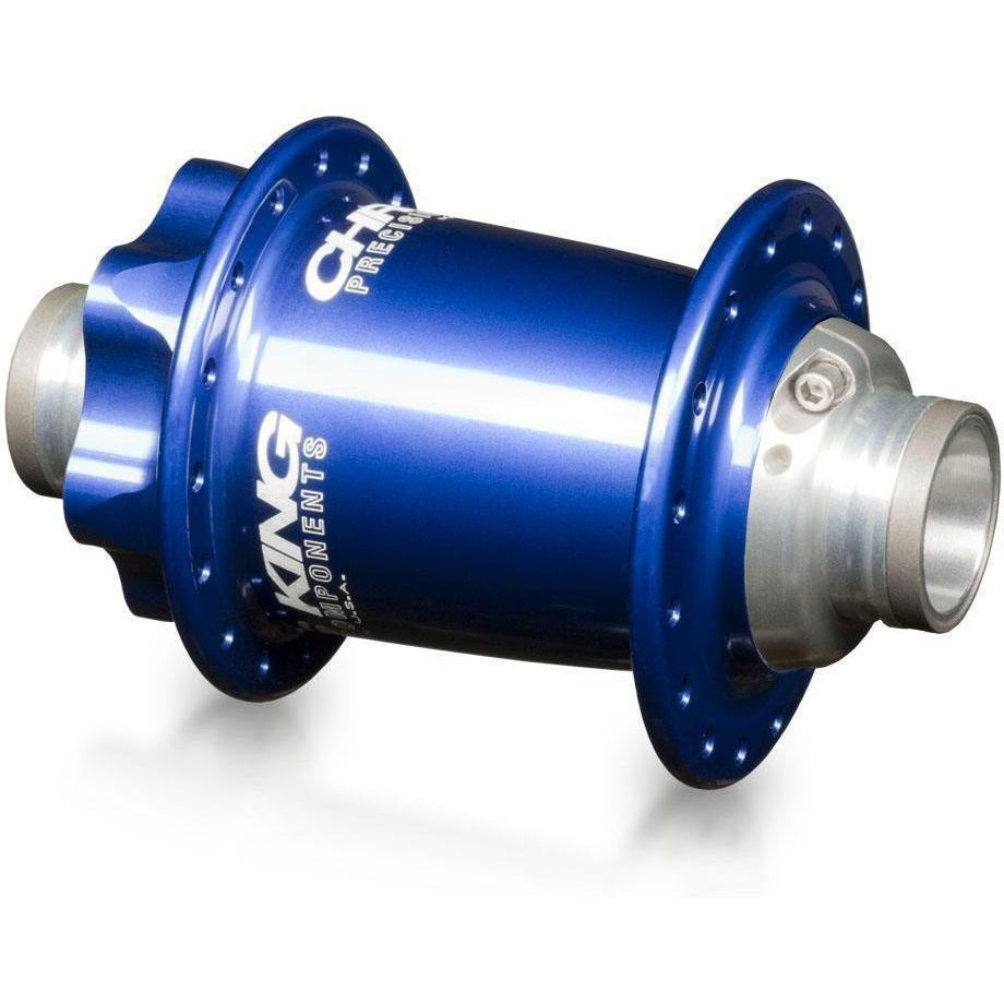 Chris King-Chris King ISO MTB Front Hub LD 110x20 Thru - Ceramic Bearings-Navy-32h-CKFN1057-saddleback-elite-performance-cycling