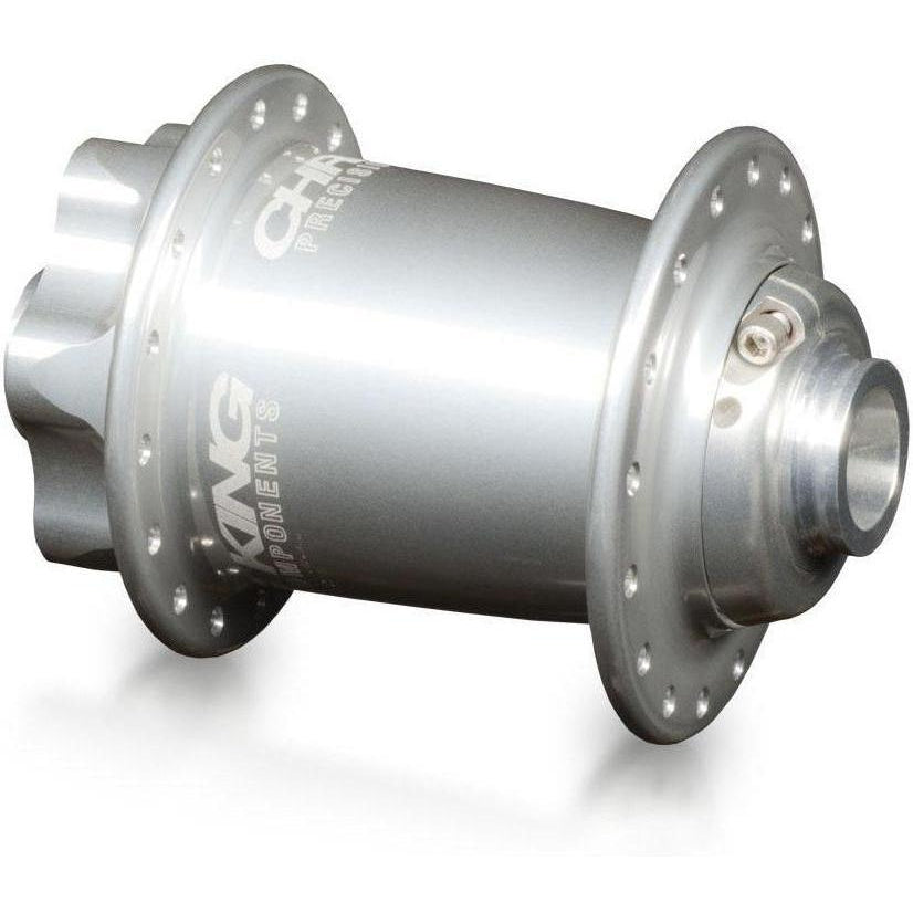 Chris King-Chris King ISO MTB Front Hub LD 110x20 Thru - Ceramic Bearings-Silver-32h-CKFS1057-saddleback-elite-performance-cycling