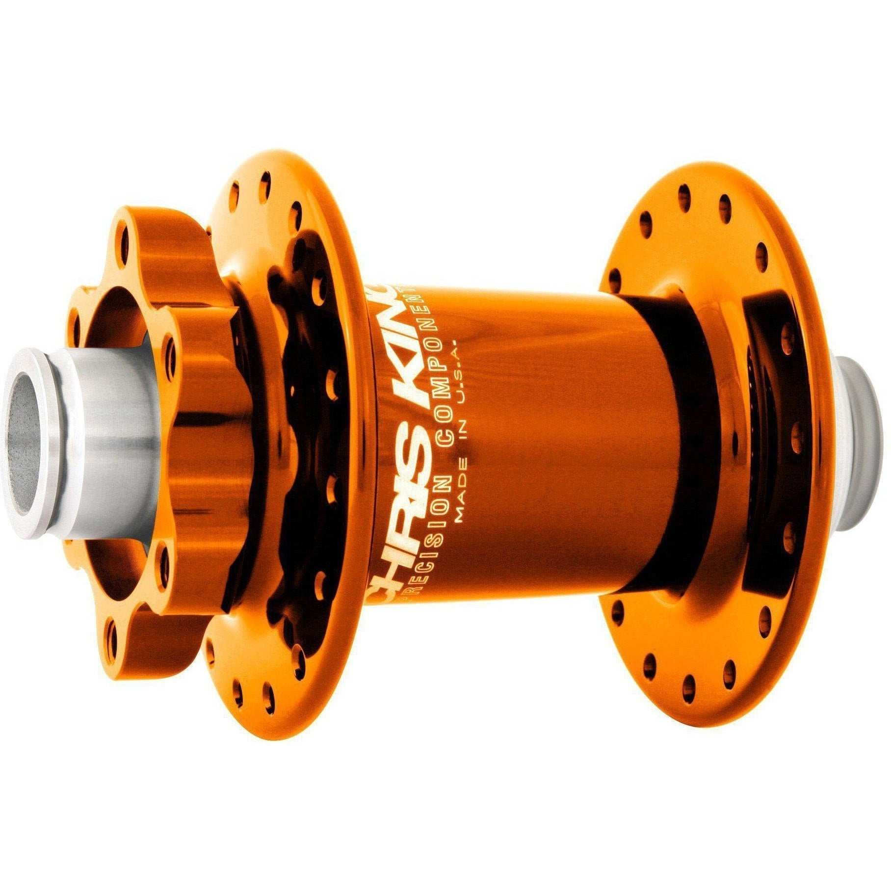 Chris King-Chris King ISO MTB Front Hub SD 100x15 Thru-Mango-28h-CKHBIF28M1I-saddleback-elite-performance-cycling
