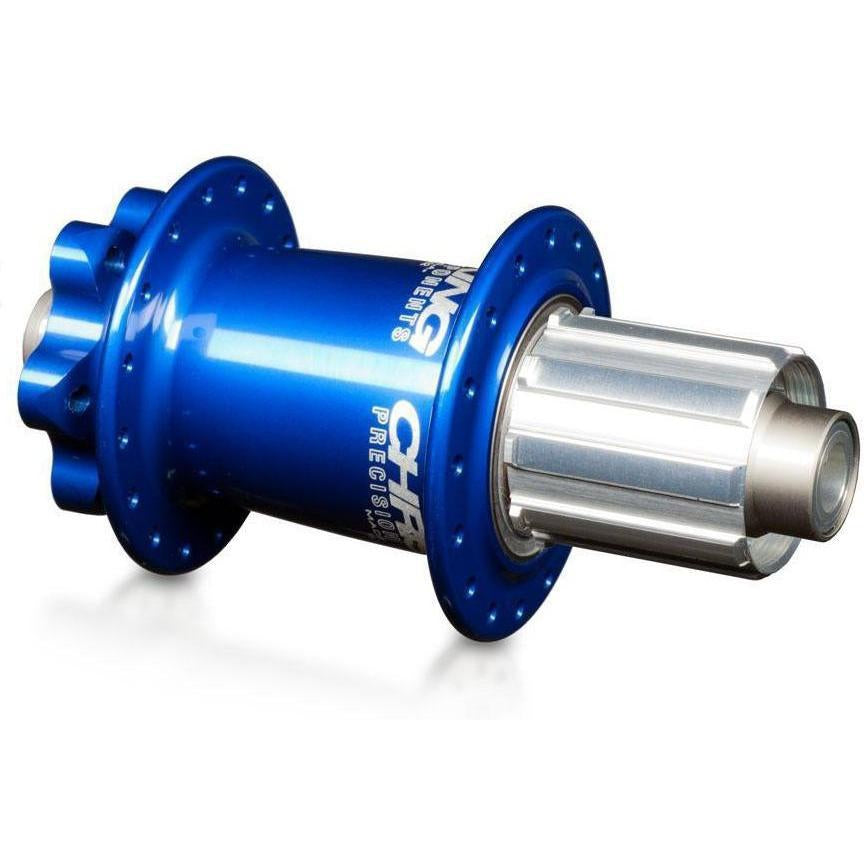 Chris King-Chris King ISO MTB Rear Hub 135x10 Thru - Shimano Driveshell-Navy-28h-CKHBIR28N1PA-saddleback-elite-performance-cycling