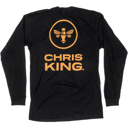Chris King-Chris King King Bee Long Sleeve Pocket T-Shirt--saddleback-elite-performance-cycling