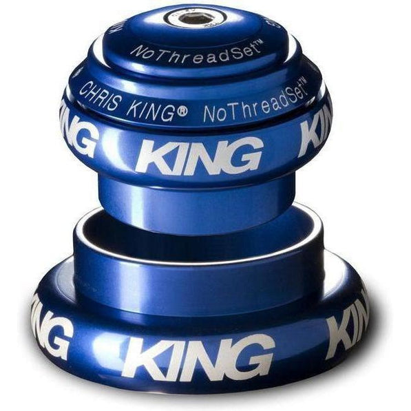 Chris King-Chris King NoThreadSet Tapered Headset-Navy-1-1/8 to 1-1/2 - EC34/EC44-CKFN0150-saddleback-elite-performance-cycling