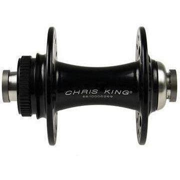 Chris King-Chris King R45D Front Centerlock Disc Hub 100x12 Thru-Black-24h-CKFB1262-saddleback-elite-performance-cycling