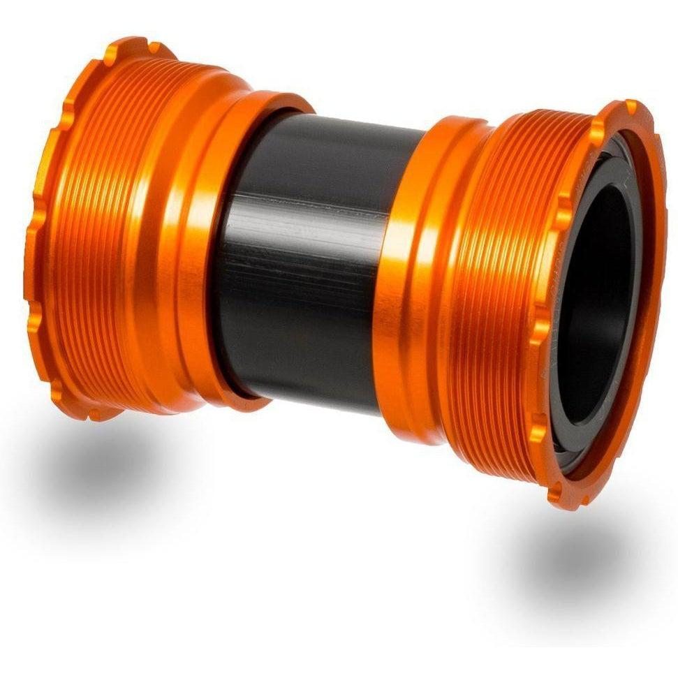 Chris King-Chris King Thread Fit T47-30i Bottom Bracket-T47 x 30 x 68 -92 or 24 x 64 -73mm-Matte Mango-CKFW0813-saddleback-elite-performance-cycling