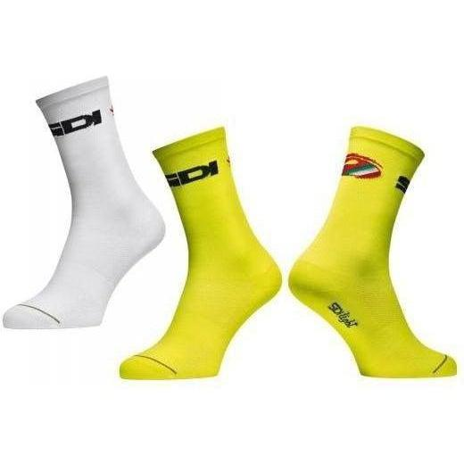 Sidi-Sidi Color 2 Socks-35/39-White-SIPCALCOLOR2A3539-saddleback-elite-performance-cycling