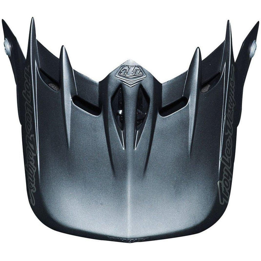 Troy Lee Designs-Troy Lee Designs D2 Helmet Replacement Visor-MIDNIGHT II BLACK-Uni-TLD158051200-saddleback-elite-performance-cycling