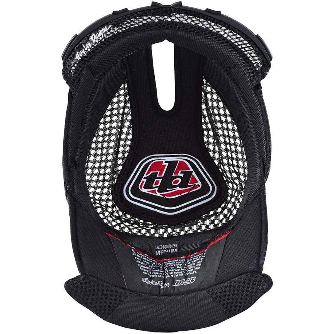 Troy Lee Designs-Troy Lee Designs D3 Helmet Replacement Headliner-BLACK-XXL-TLD148003206-saddleback-elite-performance-cycling