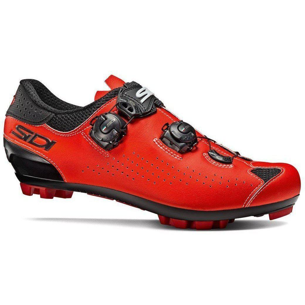 Sidi-Sidi Eagle 10 MTB Shoes-36-Black/Red-SIEAGLE10NEROSFL36-saddleback-elite-performance-cycling